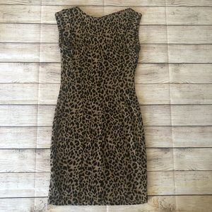Bar III cheetah dress